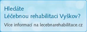 Hledáte léčebnou rehabilitaci Vyškov? Více informací na www.lecebnarehabilitace.cz